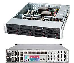 LifeCom Storage 2U 8-bay X10 SC825 E3-v3