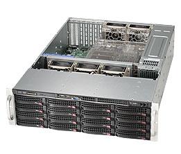 LifeCom Storage 3U 16-bay X10 SC836 E3-v3