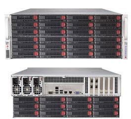 LifeCom Storage 4U 72-bay X9 SC847D E5-v2 10GB