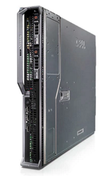 DELL POWEREDGE M610 BLADE SERVER CPU 2xE5520