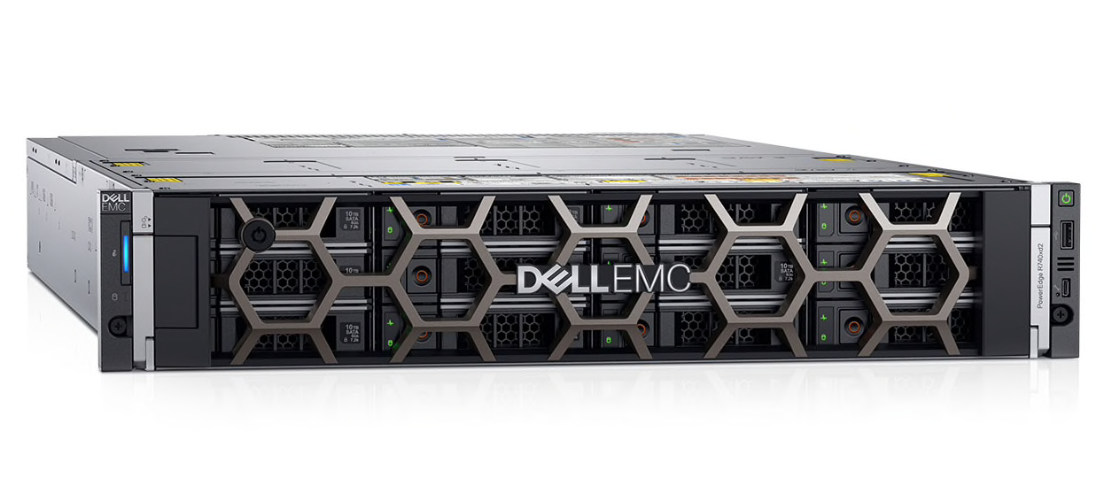 Máy chủ Dell PowerEdge R740xd Silver 4114 HDD 2.5