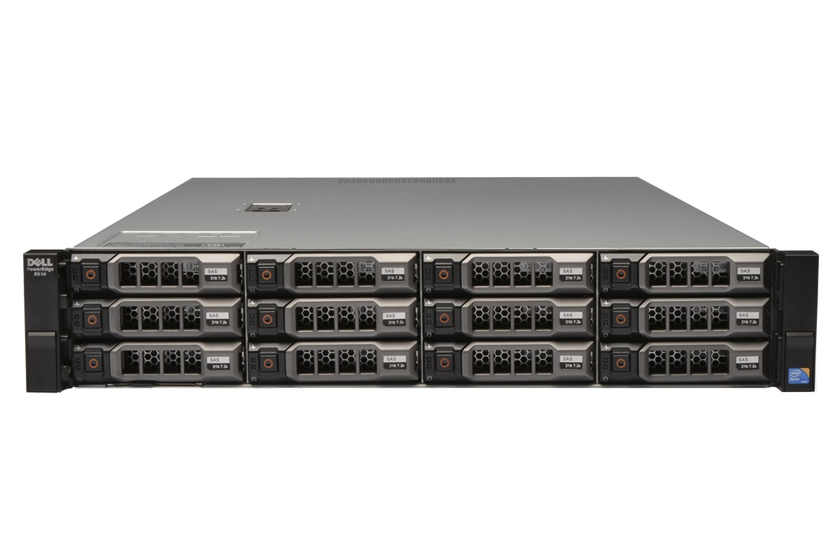 SERVER DELL POWEREDGE R510 DUAL XEON 2 x X5670 RAM 64G SATA 2TBX12 RAID H700 2U