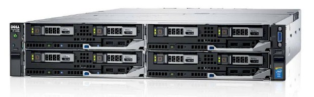 SERVER DELL POWEREDGE FX2S 4 NODE  E5 2683V3