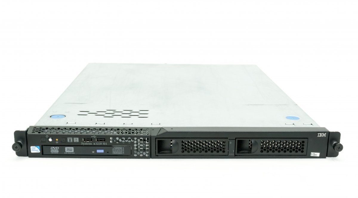 SERVER IBM® SYSTEM® X3250 M4 E3-1270v2 (4-core/3.50GHz/8MB)