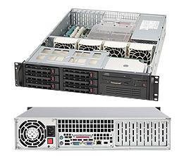 LifeCom Super CSE-823TQ-650LPB E5-2600