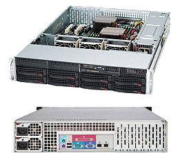 LifeCom Storage 2U 8-bay X9 SC825 E3-v2