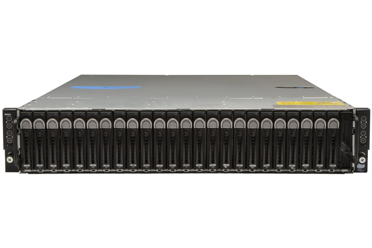SERVER DELL POWEREDGE C6320 4 NODE BAREBONE SFF