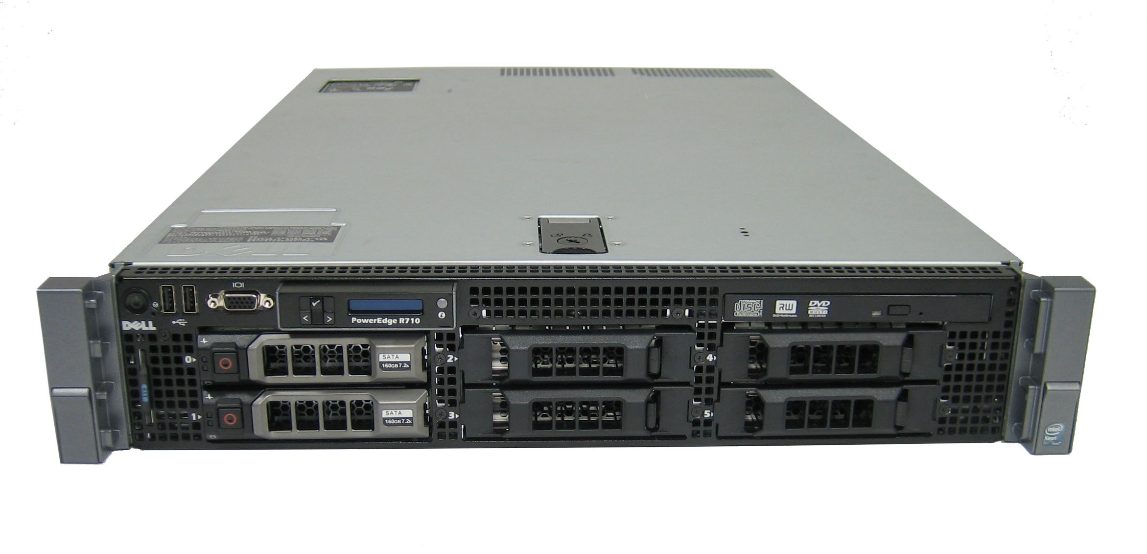 SERVER DELL POWEREDGE R710 SIX CORE X5670 2.93GHZ CŨ