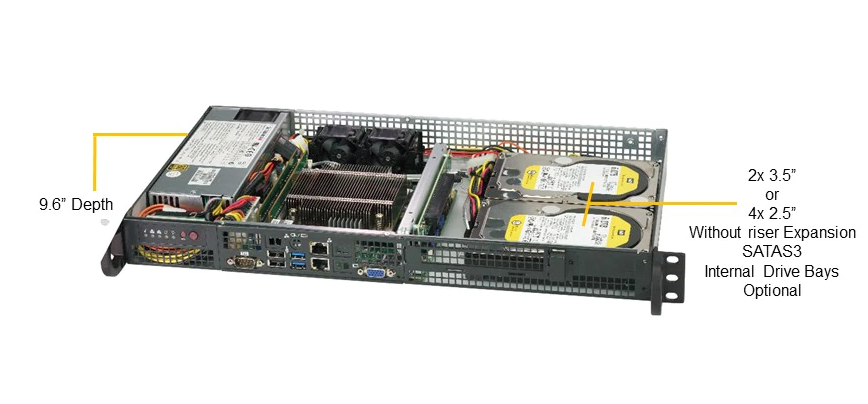 SERVER SuperServer 5019C-FL