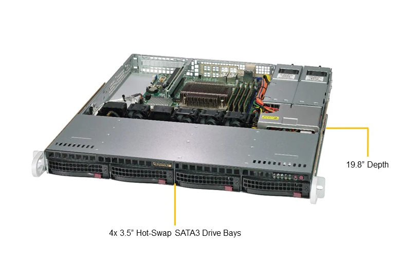 SERVER SuperServer 5019C-MR
